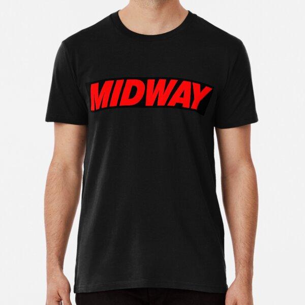 Mortal Kombat Midway side control panel artwork Premium T-Shirt