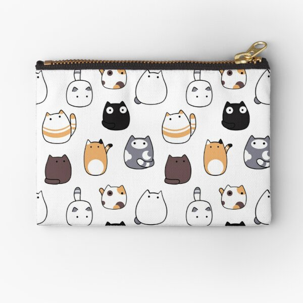 Blob Cats in Color! Zipper Pouch