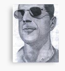 BRUCE  WILLIS Canvas Print