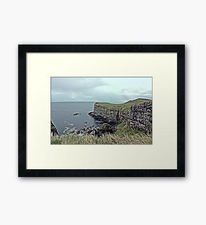 Antrim Coastal View Framed Print