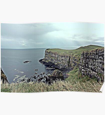 Antrim Coastal View Poster