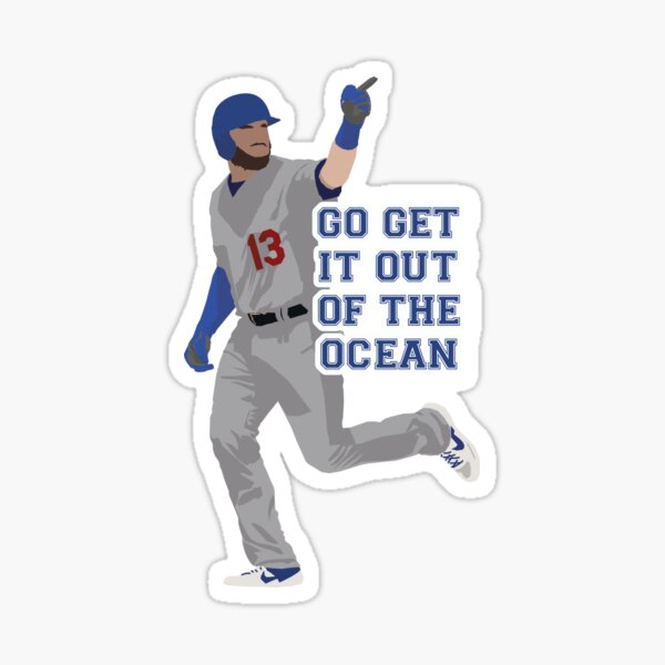 Max Muncy Go Get It Out of The Ocean Sticker