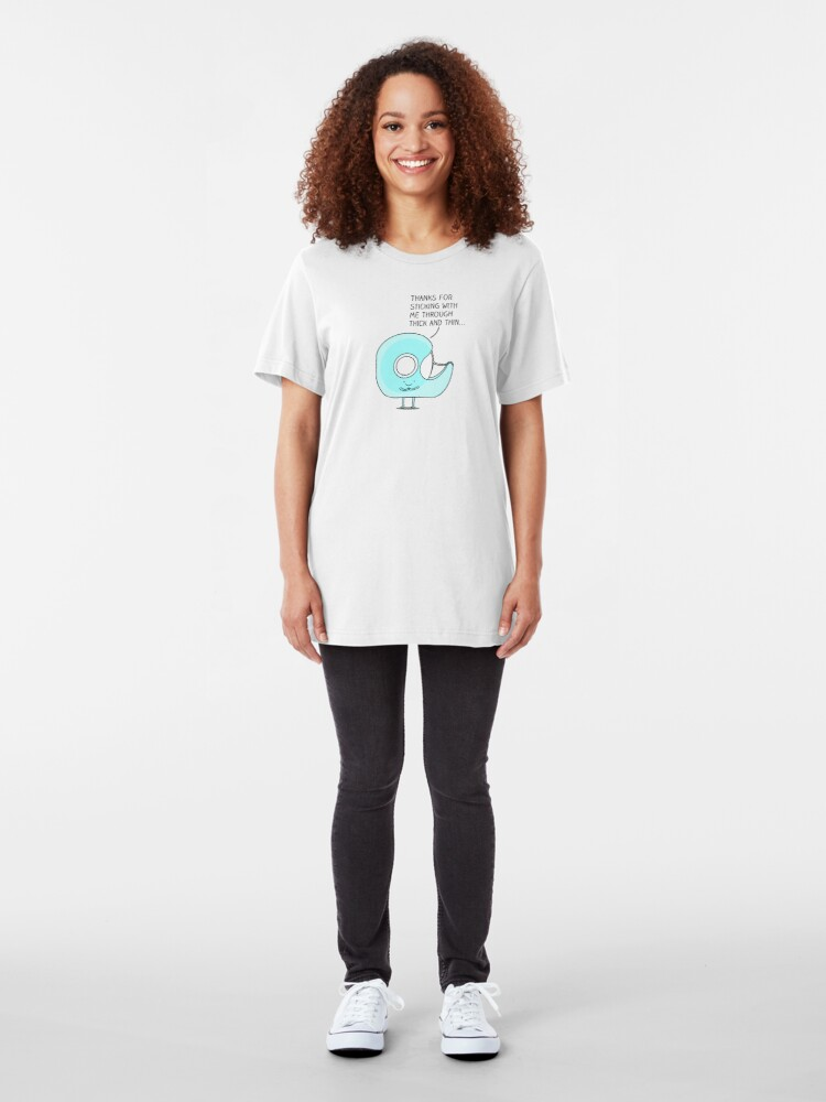 Alternate view of Let's stick together... Slim Fit T-Shirt