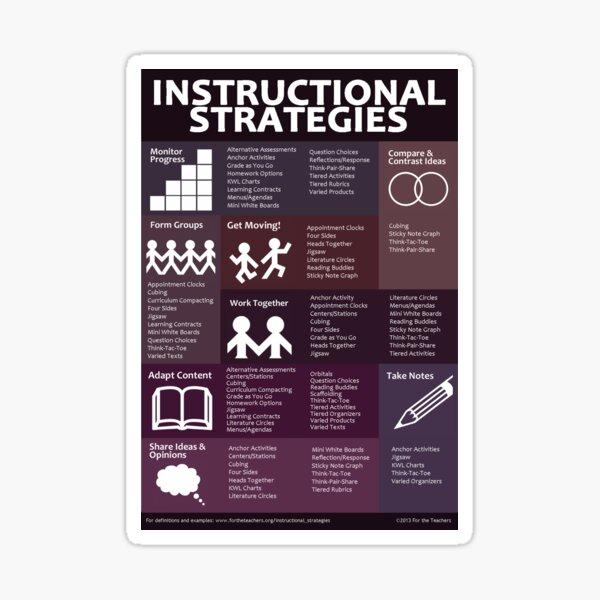 Instructional Strategies Sticker