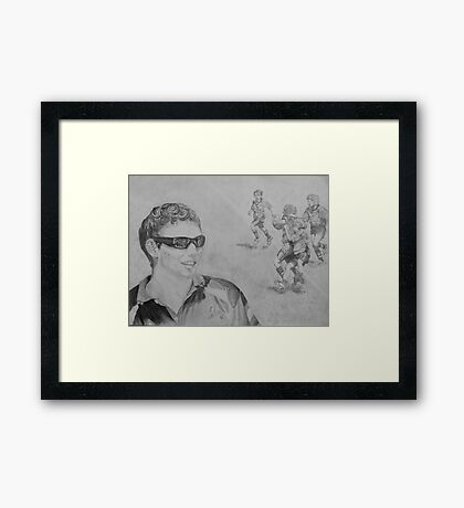 Coach Framed Print