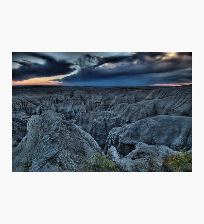 Dramatic South Dakota Photographic Print