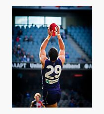 Pavlich takes the Mark Photographic Print