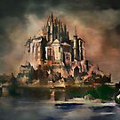 Mont Saint-Michel (1887 y) by andy551