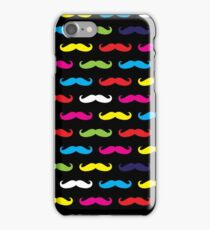 Colourful Moustache Pattern iPhone Case/Skin