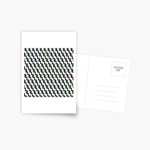 #OpArt, #visual #illusion, #VisualArt, opticalart, opticalillusion, opticalillusionart, opticalartillusion, psyhodelic, psichodelic, psyhodelicart Postcard