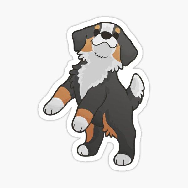 Chunky Bernese Mountain Dog Sticker