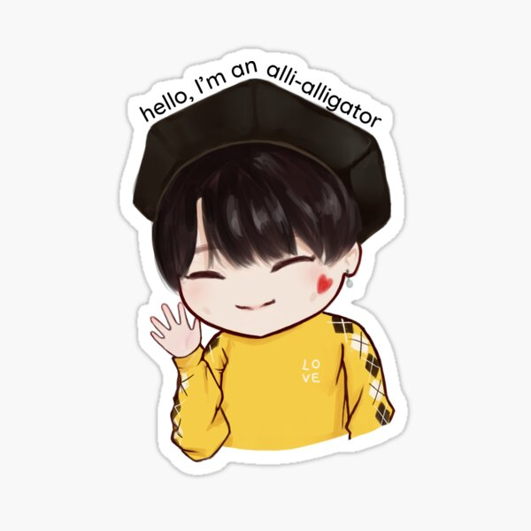 MONSTA X - Joohoney Chibi Sticker