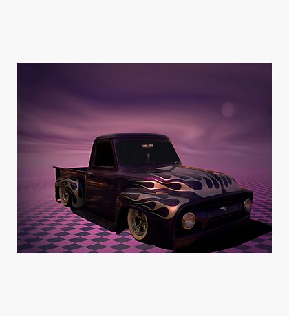 1954 Ford Custom Pickup Truck Photographic Print