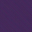 Stripes (Small) - Violet and Pewter by Sarinilli