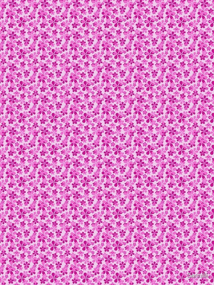 Sakura Chevron in Pink by Sarinilli