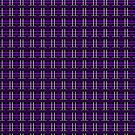Violet and Pewter Plaid by Sarinilli