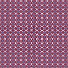 Asian Traditional Inspired in Violet Red and Pink by Sarinilli