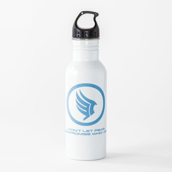 Mass Effect Commander Shepard Paragon Quote Water Bottle