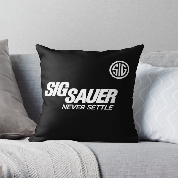 Sauer Firearm Tee Throw Pillow