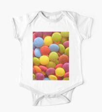 Candy Smarties Short Sleeve Baby One-Piece