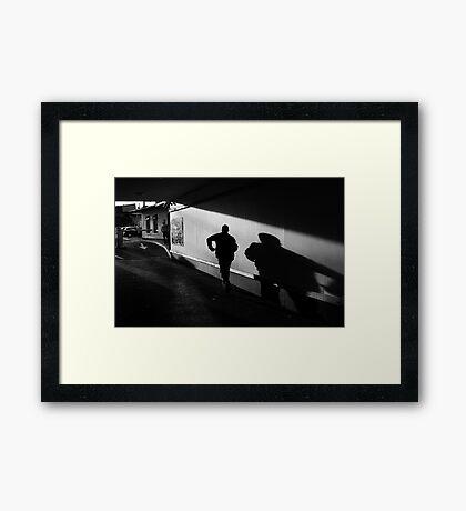 The Shadow Framed Print