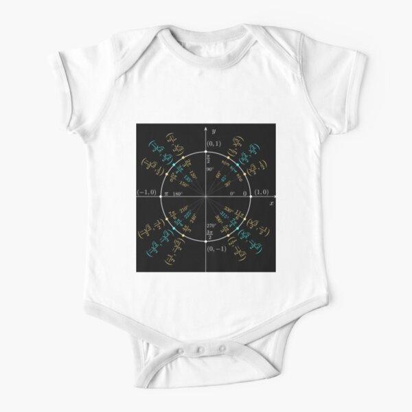 Unit #circle #angles. #Trigonometry, #Math Formulas, Geometry Formulas Short Sleeve Baby One-Piece