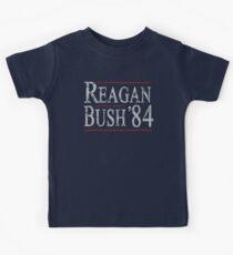 Retro Reagan Bush '84 Kids T-Shirt