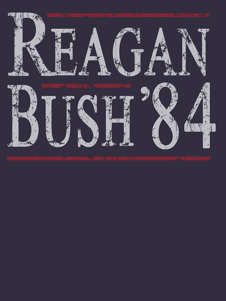Retro Reagan Bush '84 | Unisex T-Shirt