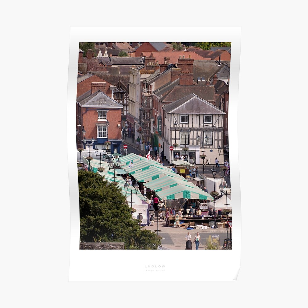 Ludlow, Shropshire Poster
