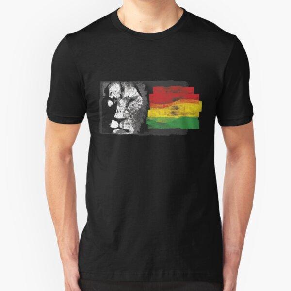 Rasta lion Slim Fit T-Shirt