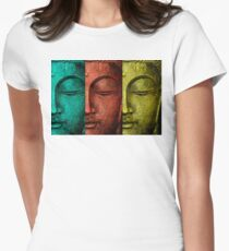buddha Women's Fitted T-Shirt