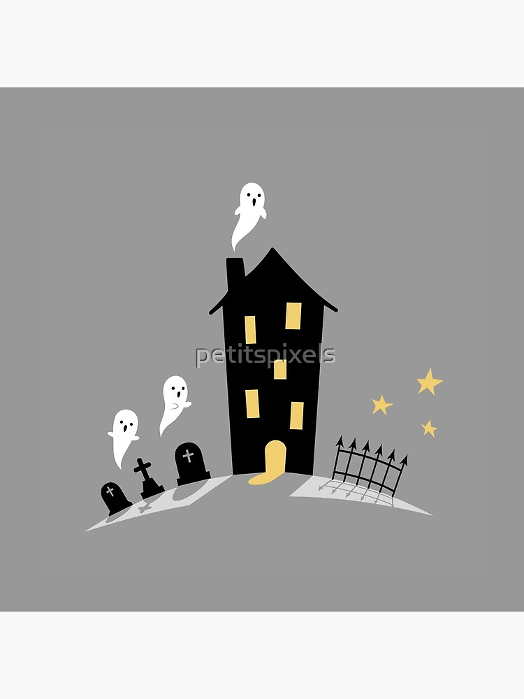 Haunted house by petitspixels