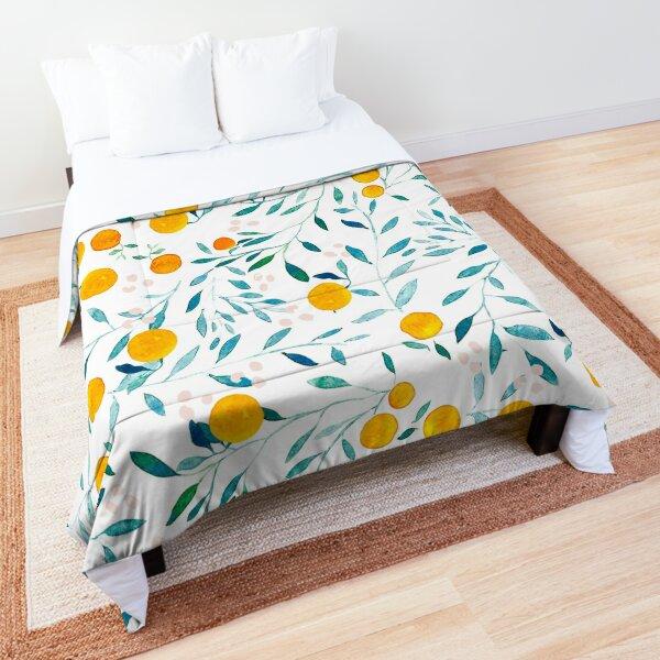 Orange Tree Comforter