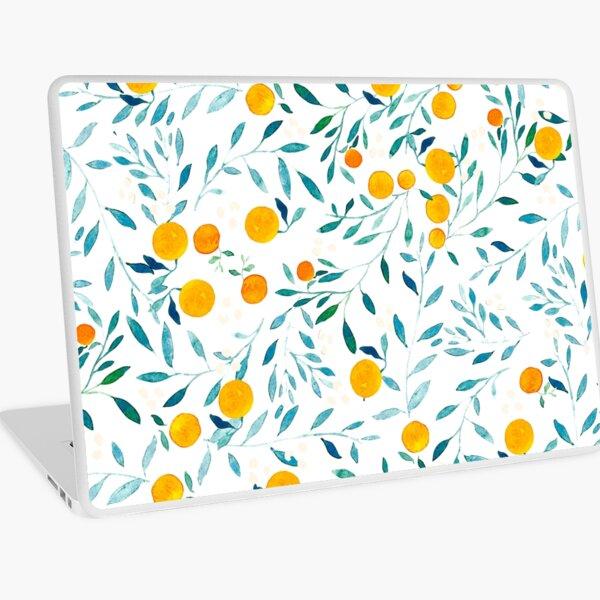Orange Tree Laptop Skin