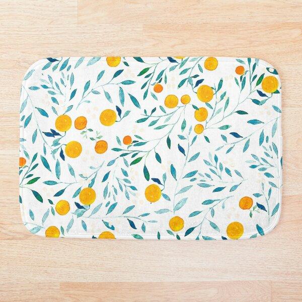 Orange Tree Bath Mat