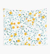 Orangenbaum Wandbehang