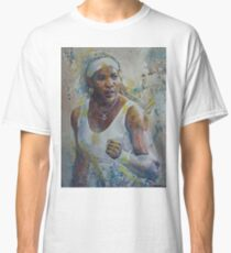Serena Williams - Portrait 5 Classic T-Shirt