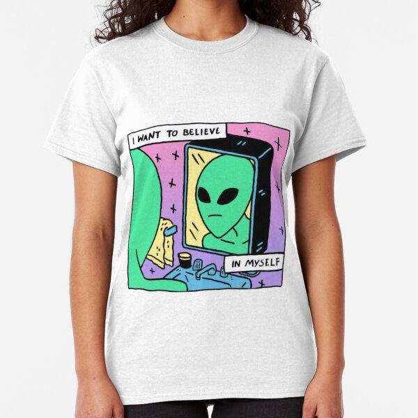 Unconfident Alien  Classic T-Shirt