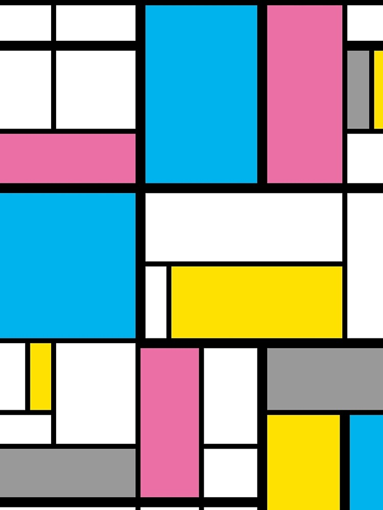 New Mondrian Modern Art Graphic by newyorker01