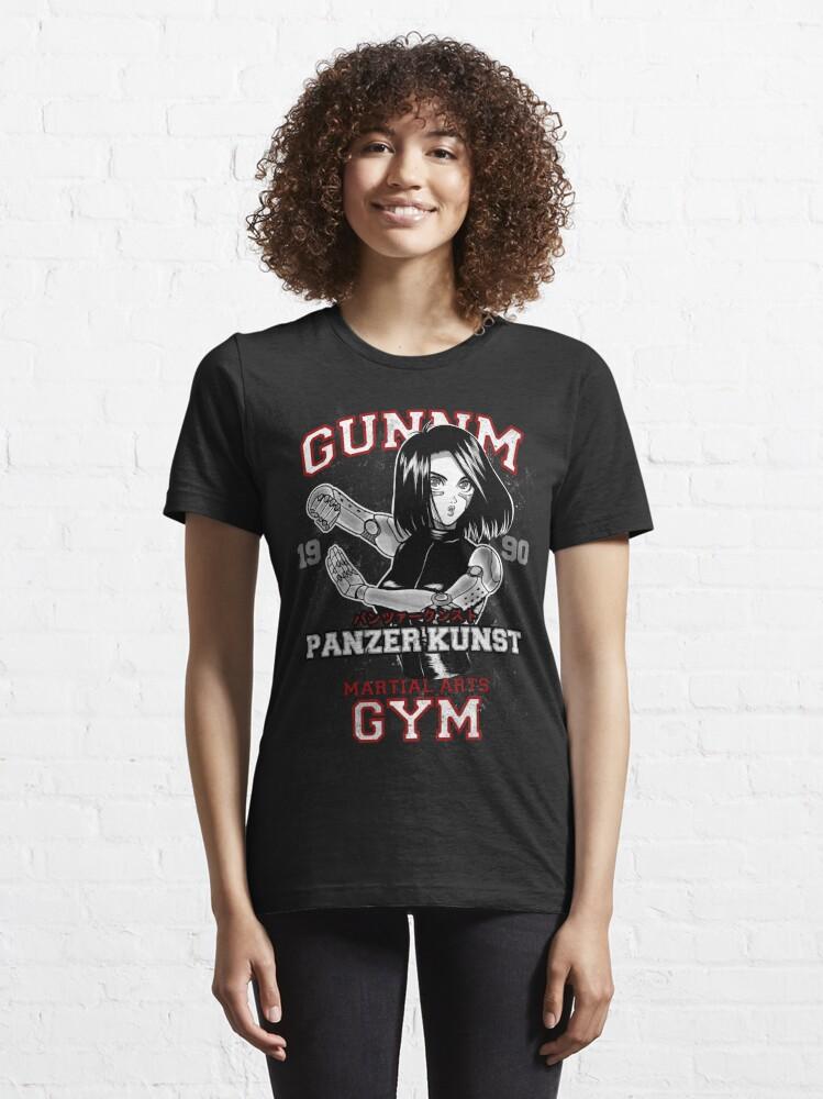 Alternate view of GUNNM GYM Essential T-Shirt
