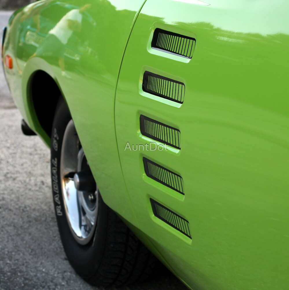 Green Detail  by AuntDot