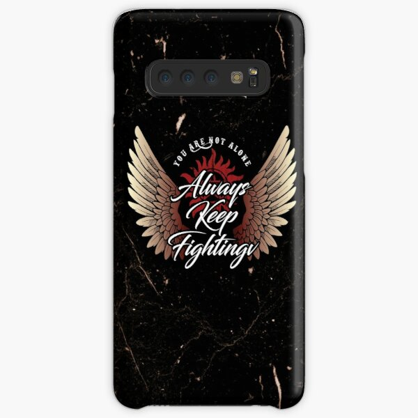 Always Keep Fighting - Angelic Samsung Galaxy Snap Case