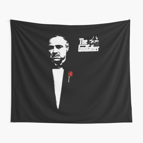 The Godfather Artwork, Posters, Prints, Tshirts, 1972 Movie For Men, Women, Kids Tapestry