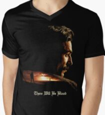 There Will Be Blood - Plainview Men's V-Neck T-Shirt