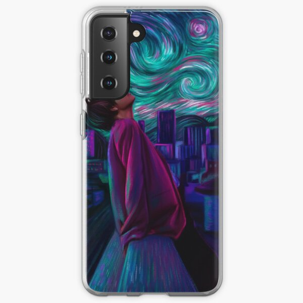 """Starry Night"" Samsung Galaxy Soft Case"