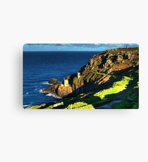 Crown Tin Mines of Botallack Canvas Print