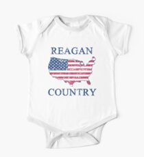 Retro 80s Reagan Country One Piece - Short Sleeve