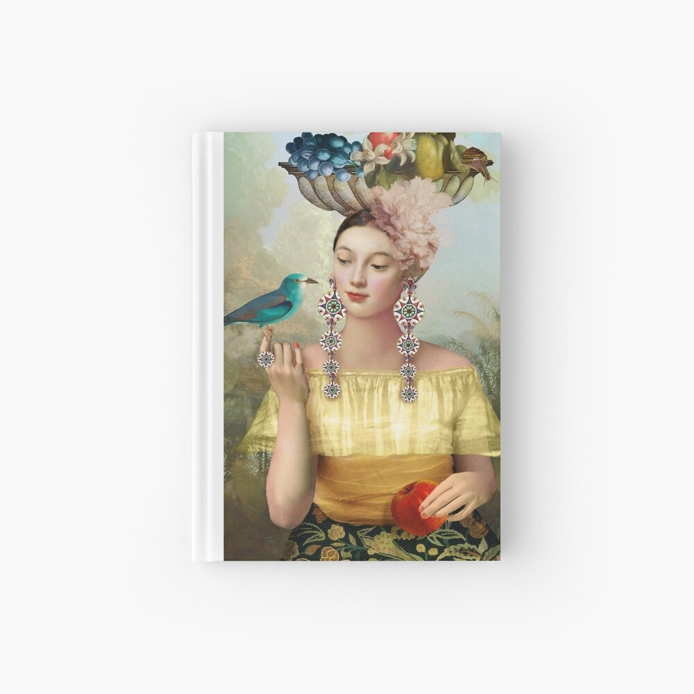 Nine of Pentacles Hardcover Journal