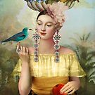Nine of Pentacles by Catrin Welz-Stein