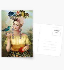 Nine of Pentacles Postcards